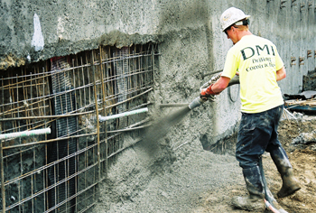 Drilled shafts wall
