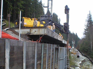 Landslide repair & stabilization services