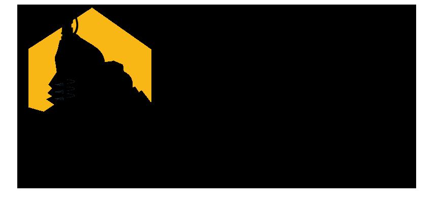 Large DMI Drilling Construction Logo