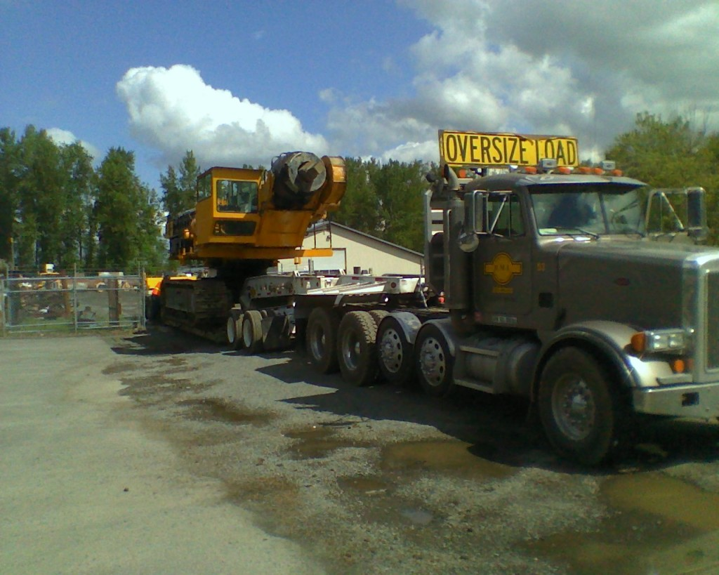 DMI Drilling Construction Trucks