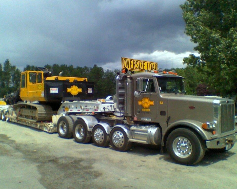 DMI Drilling Construction Truck