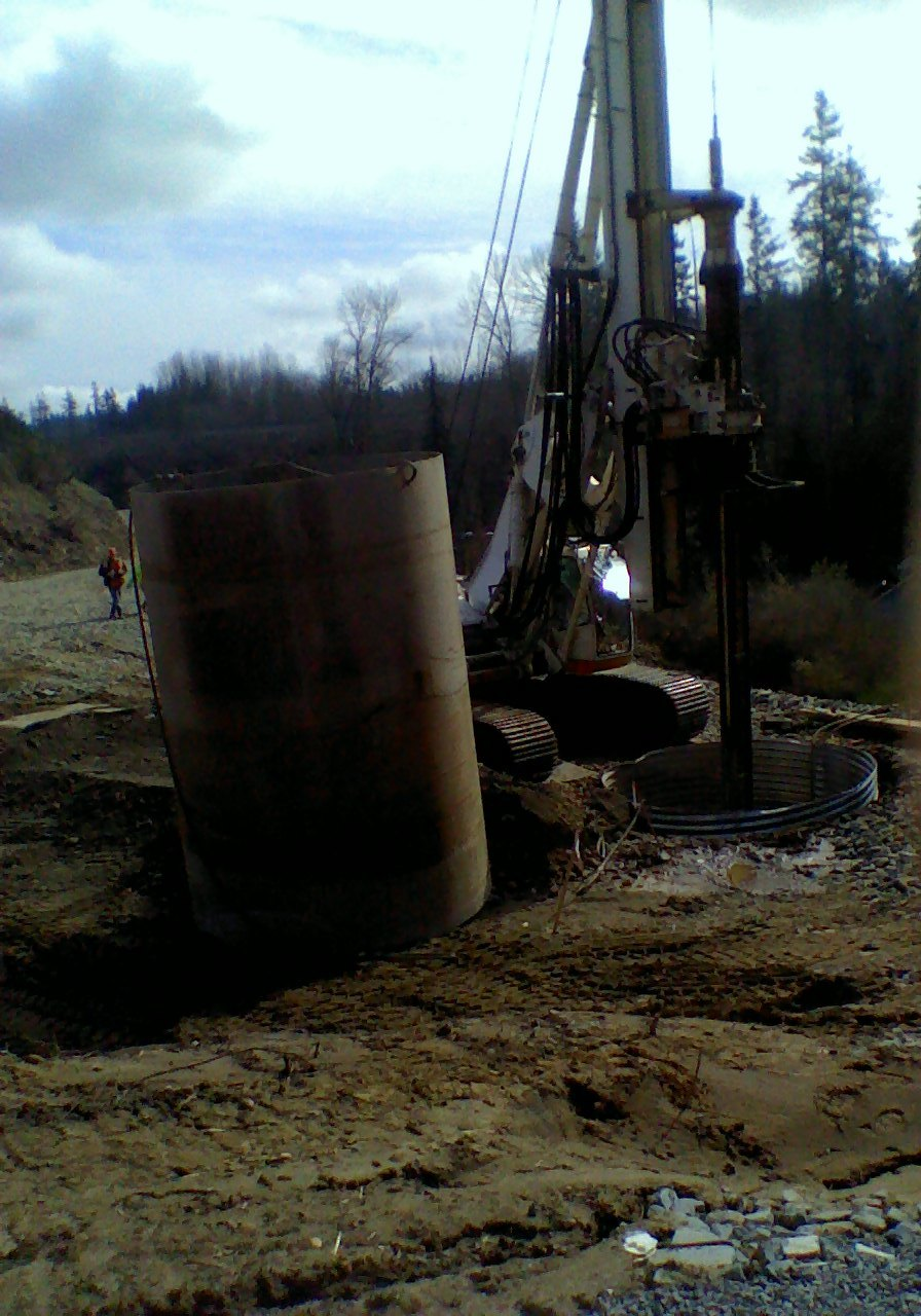 Large Shaft Drilling - DMI Drilling