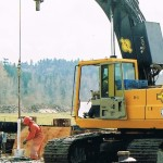Dewatering shaft & well installation