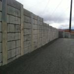 Perm. Soldier beam concrete panels