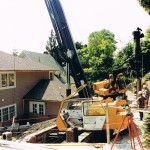 Residential - limited access shoring