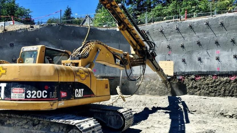 Shotcrete in Seattle, WA