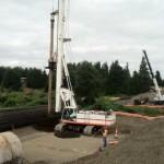 Soilmech installing large diameter shaft