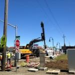 Working under low overhead power lines