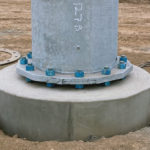 Sub Station Power Pole Foundation