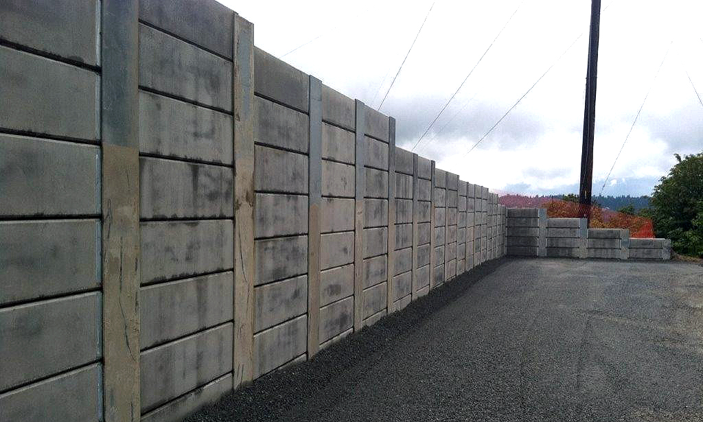 Precast Concrete Lagging - Shoring