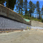 Large Shotcrete Wall