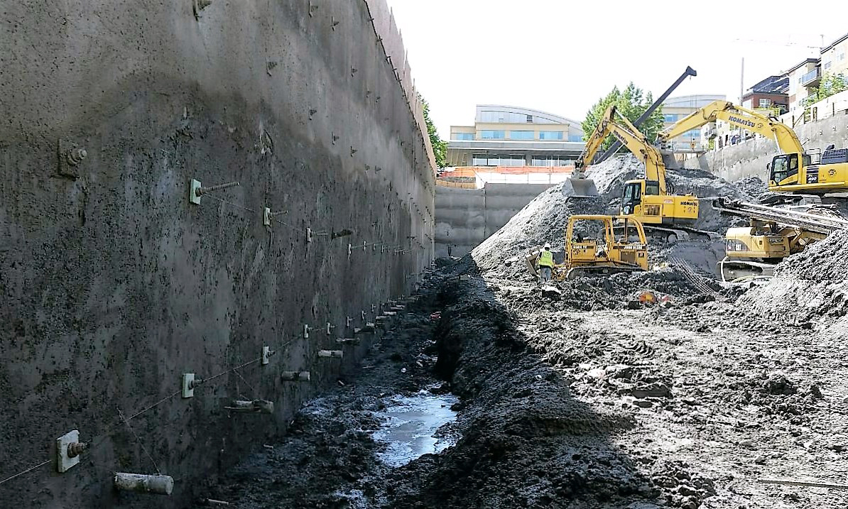 Shotcrete Installation - Seattle WA