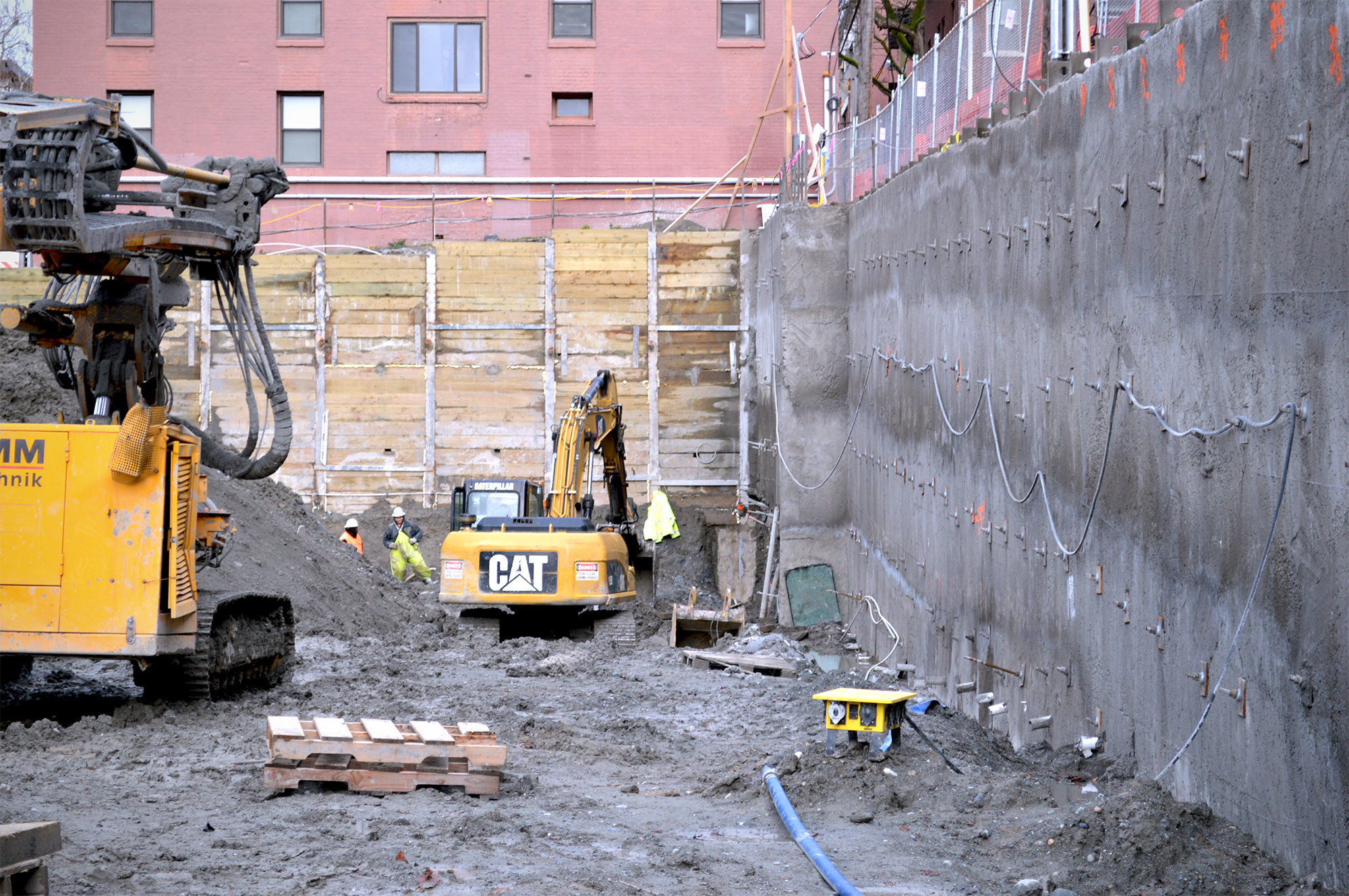 Shotcrete Wall and Shoring