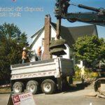 Contaminated dirt disposal
